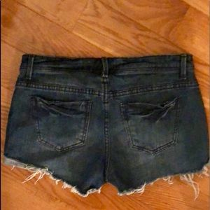 Forever 21 Shorts - FOREVER 21 dark denim jean shorts SIZE 26